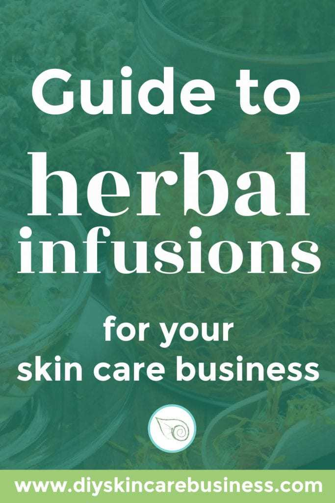 Guide to Herbal Infusions for Your Skin Care Business