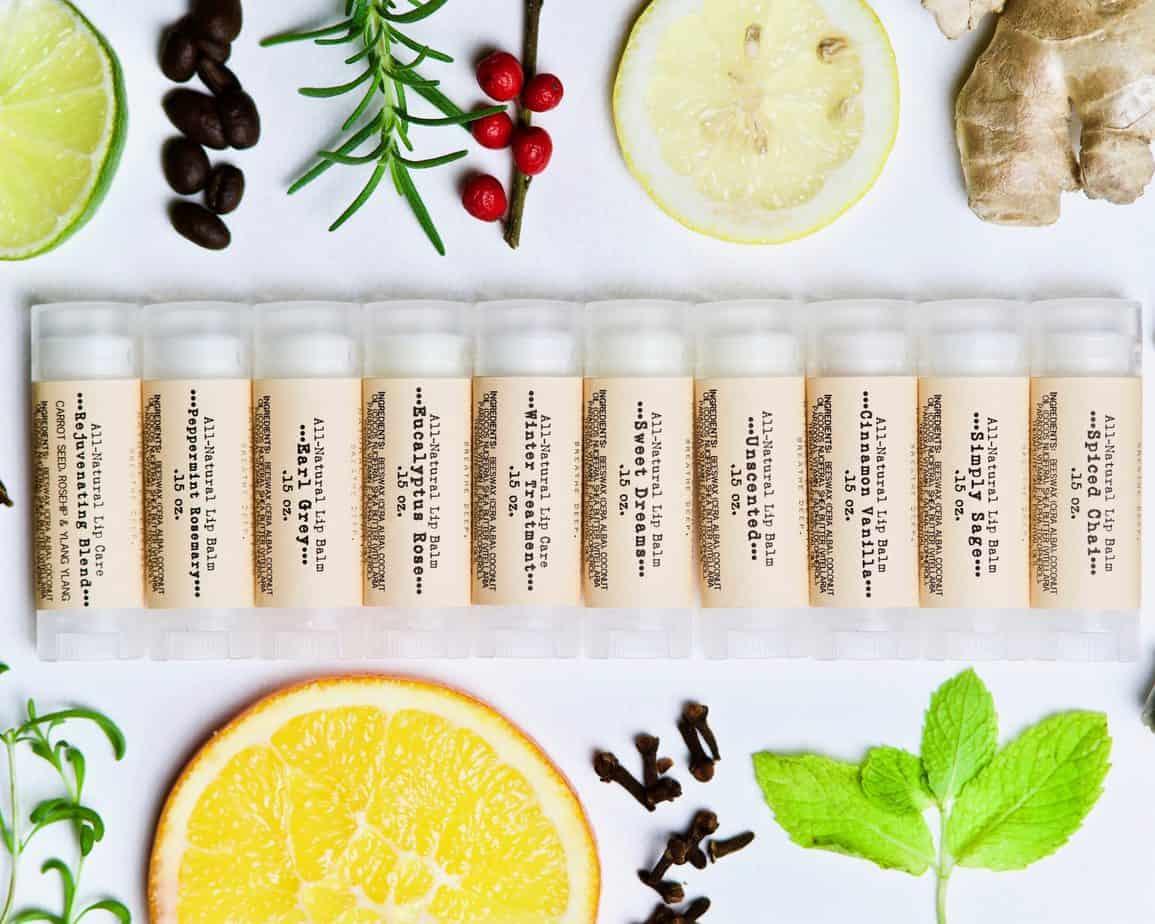10 lip balm scents from the Organic Lip Balm Recipe