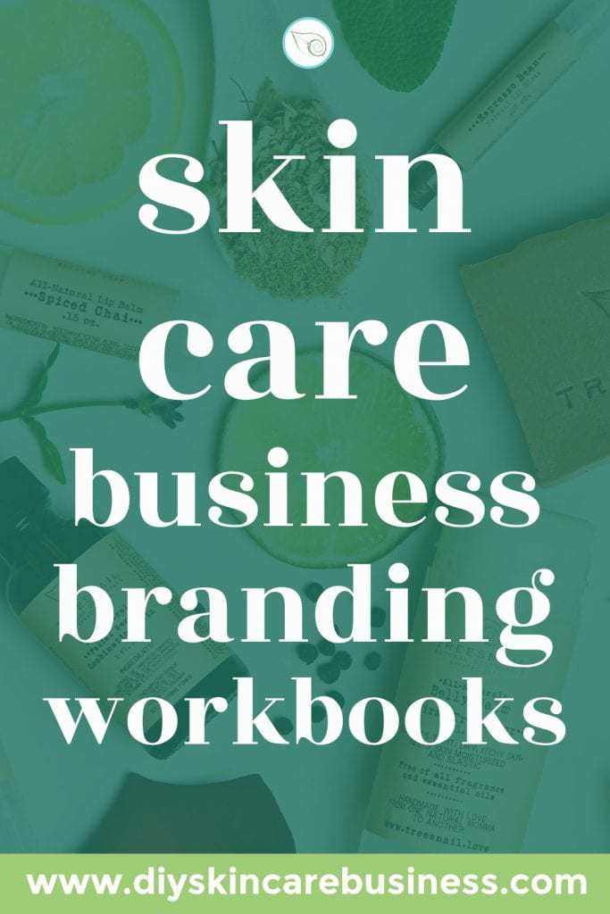 DIY Skin Care Business Branding Workbooks