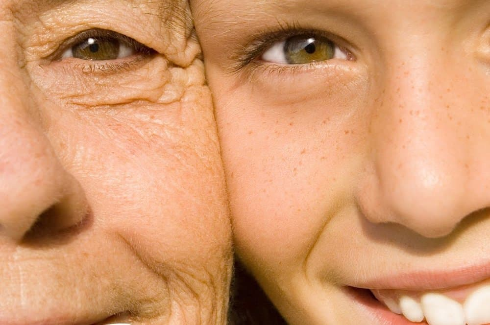 Wide range of target markets for natural skin care from young to old.