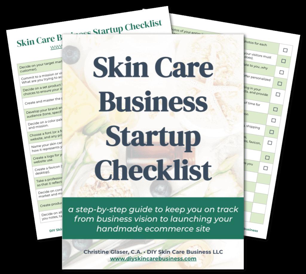 Skin Care Business Startup Checklist